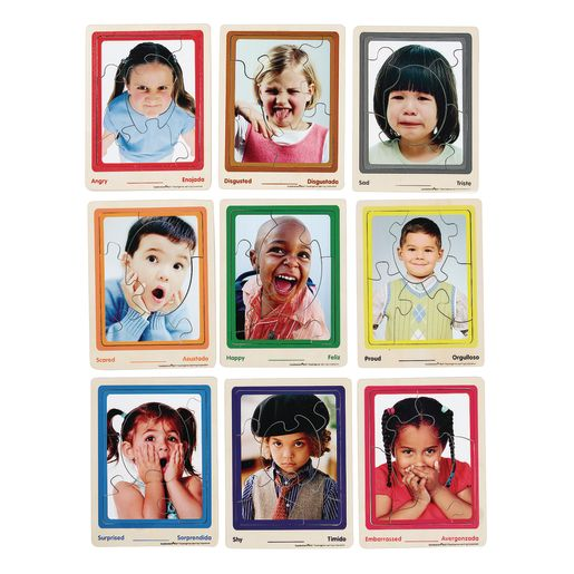Excellerations® Emotion Puzzles Set of 9