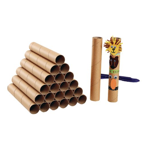 Image of Colorations Extra-Long Sturdy Recycled Craft Rolls Set of 24