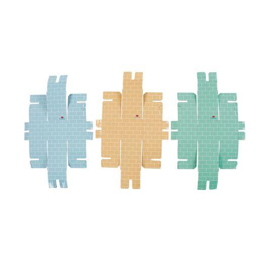 Toddler Cardboard Building Bricks Set of 18