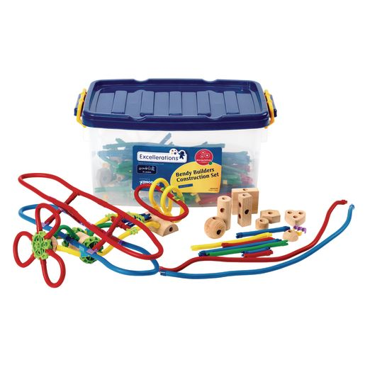 Excellerations® Bendy Builders STEM Construction Set 295 Pieces