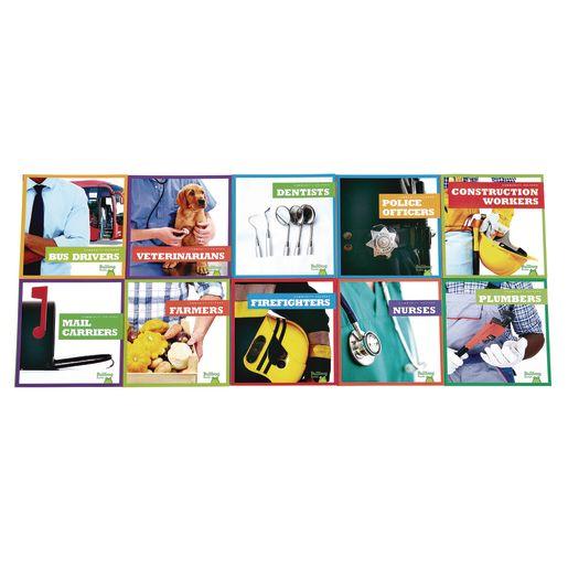 Community Helpers Career Book Set of 10