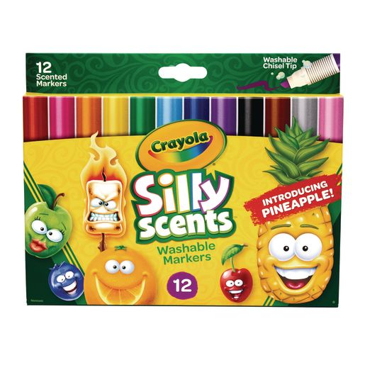 Image of Crayola Markers, Twistable Silly Scents, set of 12