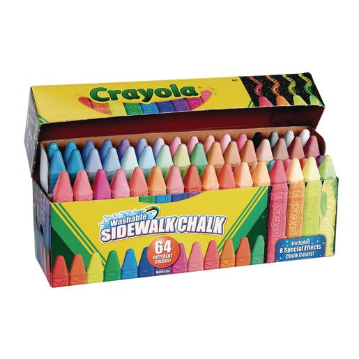 Image of Crayola Ultimate Sidewalk Chalk Set of 64