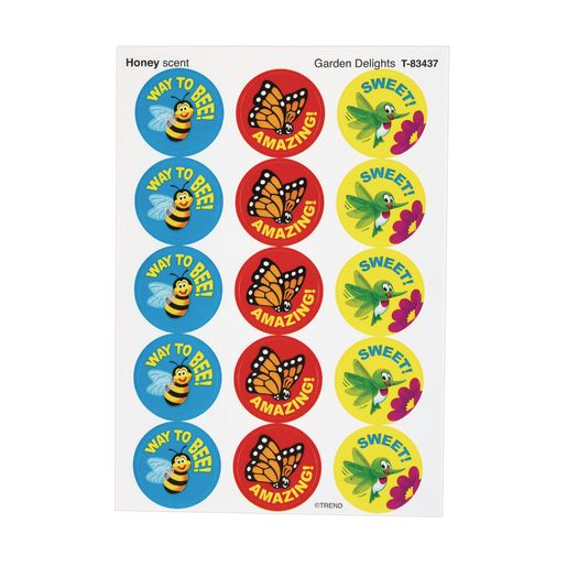 Scratch 'n' Sniff Stinky Stickers® Bug & Bloom