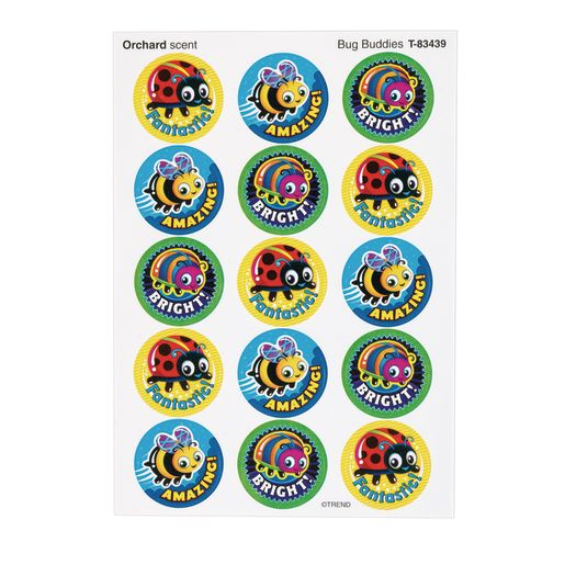 Scratch 'n' Sniff Stinky Stickers® Bug & Bloom
