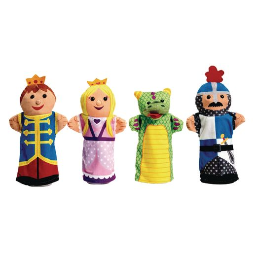 Palace Pals Hand Puppets Set of 4_0