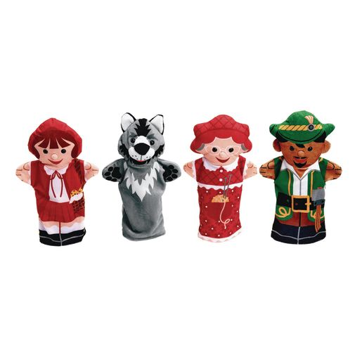 Red Riding Hood Hand Pupper Set of 4