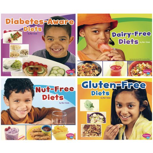 Food Allergies Book Set of 4