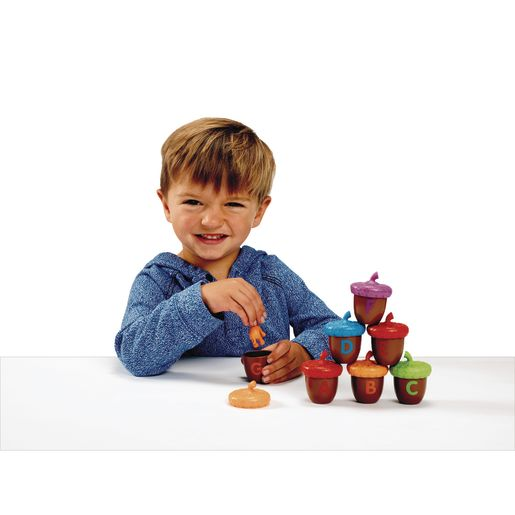 Alphabet Letters on Acorns Activity Set