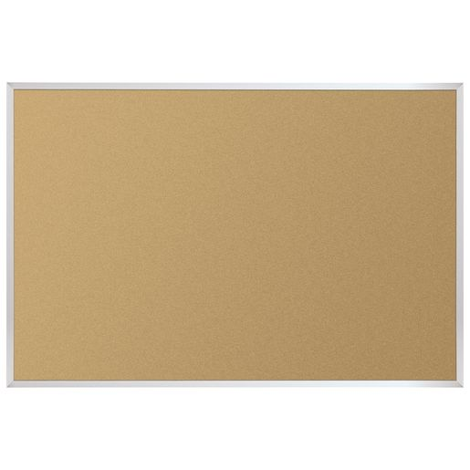 4' X 6' Value-Tak Cork Board Aluminum Trim