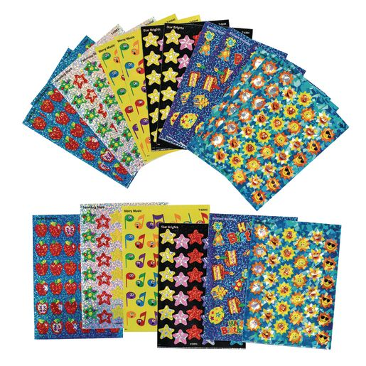 Image of Sparkle Sticker Teacher Variety Pack 20 Sheets