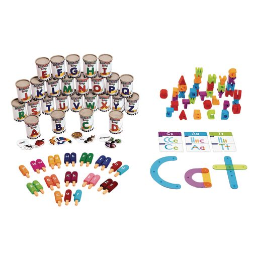 Preschool Language Manipulatives Kit 344 Pieces
