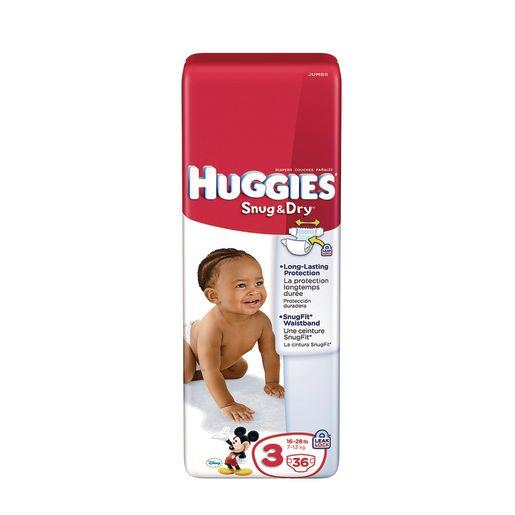 Huggies® Snug & Dry Diapers - Medium, 36 Pieces