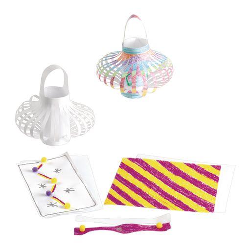 Color-In Paper Lanterns Set of 30