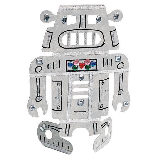 Image of Stand-Up Robots Set of 24