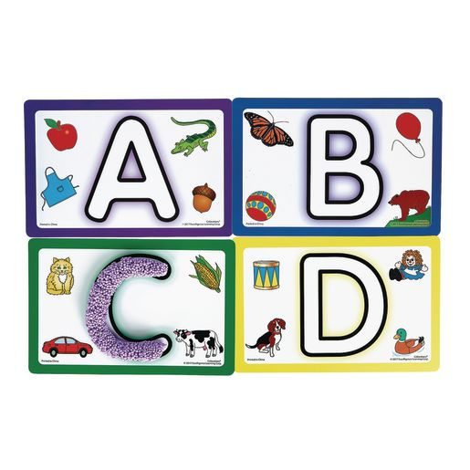 Colorations® ABC Modeling Mats Set of 26_2