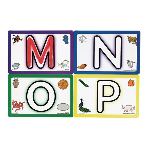 Colorations® ABC Modeling Mats Set of 26_5