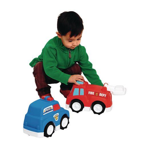 Jumbo Road Masters Emergency Vehicles Set of 2