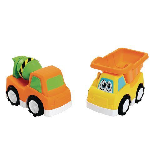 Jumbo Road Masters Construction Vehicles Set of 2