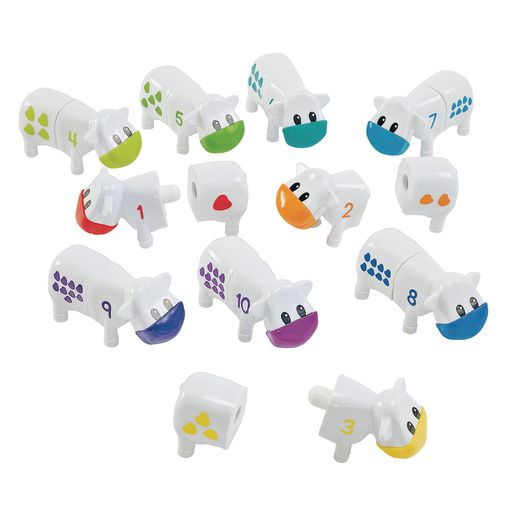 Snap-n-Learn™ Counting Cows 20 Pieces
