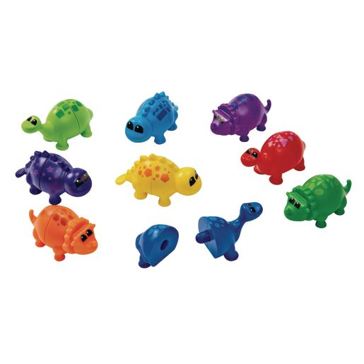 Snap and Learn Matching Dinos - 18 Pieces