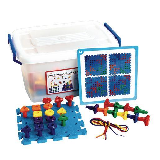 Geo Pegboard Classroom Activity Set