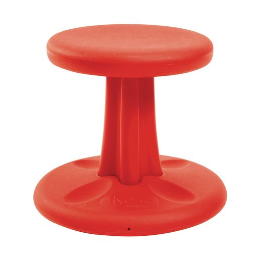 "Kore™ Wobble Stool 14""H Red"