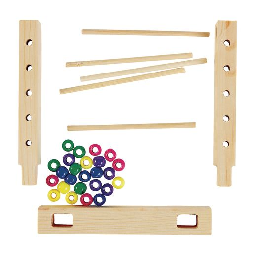 Colorations® Easy-Build Abacus Set of 6