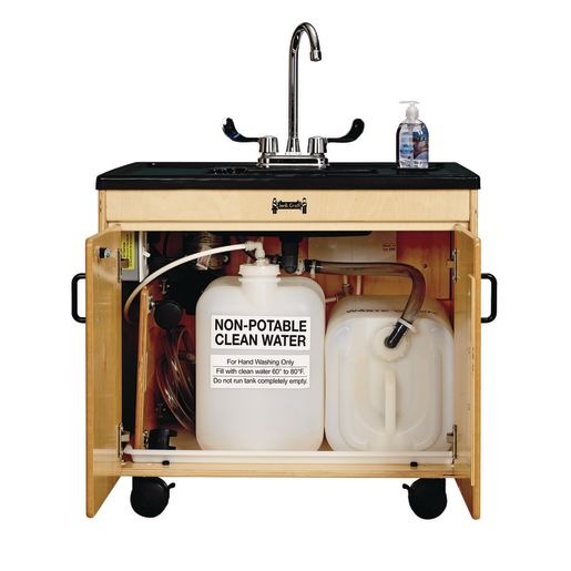 "Clean Hands Helper Sink 26""H"