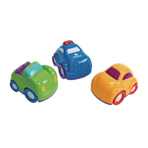 Image of Set of 3 Mini Car Vehicles