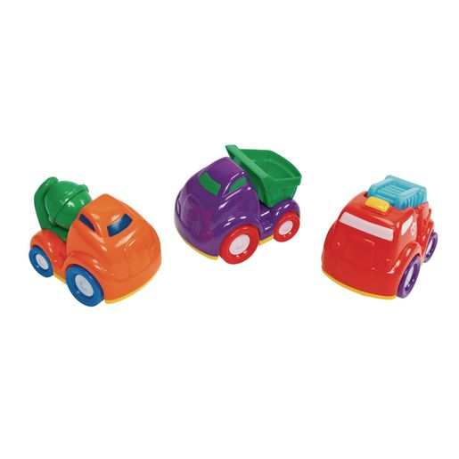 Image of Mini Construction Vehicles - Set of 3