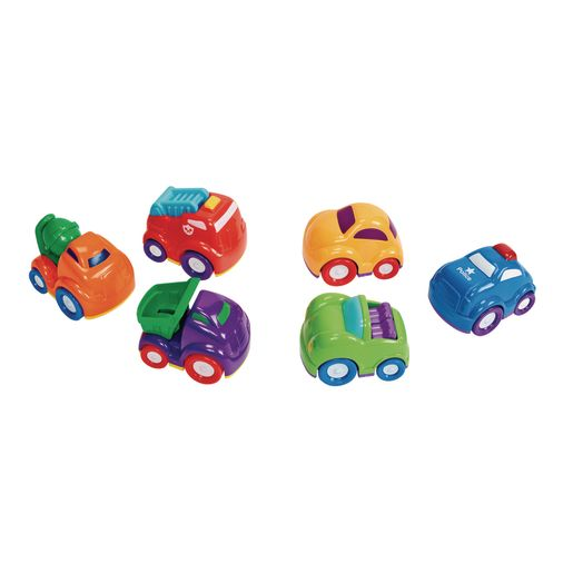 Set of 6 Mini Vehicles