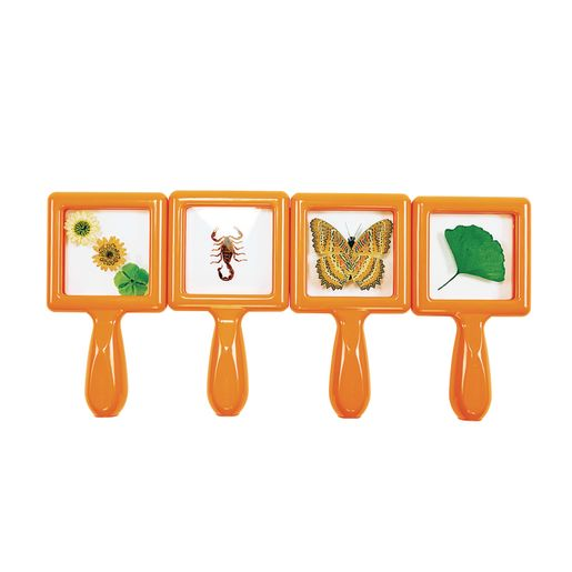 Environments® Toddler Specimen Viewers Set of 4, 16 pieces