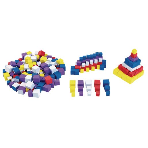 Image of Colorations Sticky STEM Foam Cubes 300 Pieces