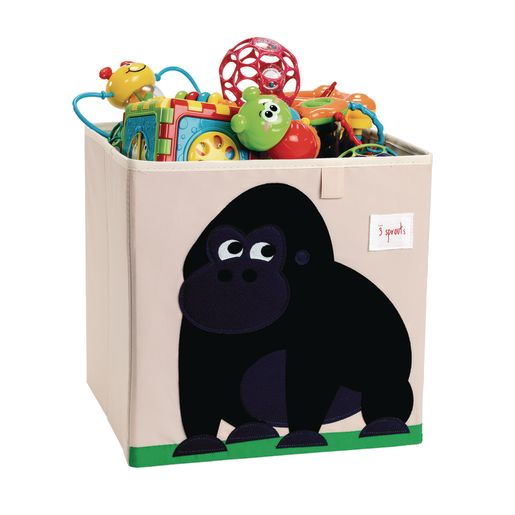 Infant/Toddler Animal Storage Bin Gorilla Design
