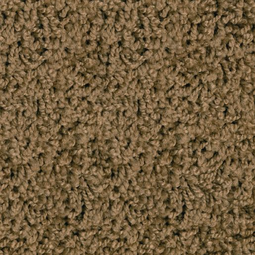 KIDply® Soft Brown Sugar 6' x 9' Rectangle Solid Carpet