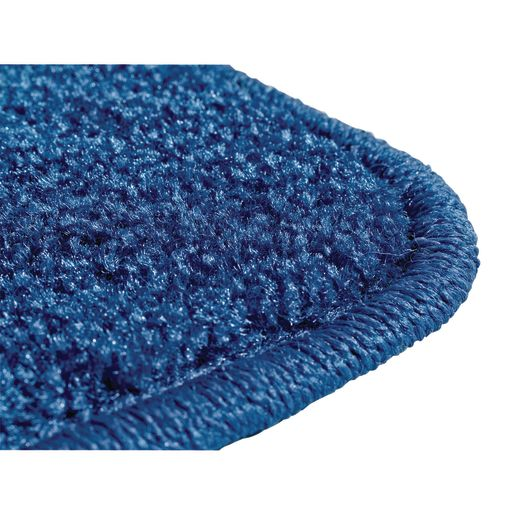 Mt. St. Helens Marine Blue 6' x 9' Rectangle Solid Carpet