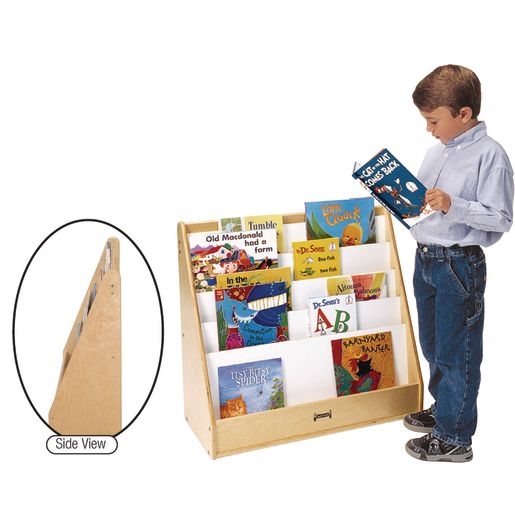 Image of Pick-a-Book Stand Flush Back - 1 Sided