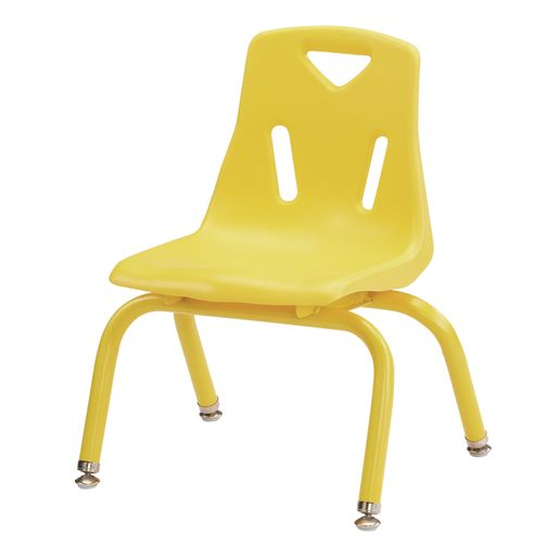 "10""H Chair with matching legs - Yellow"