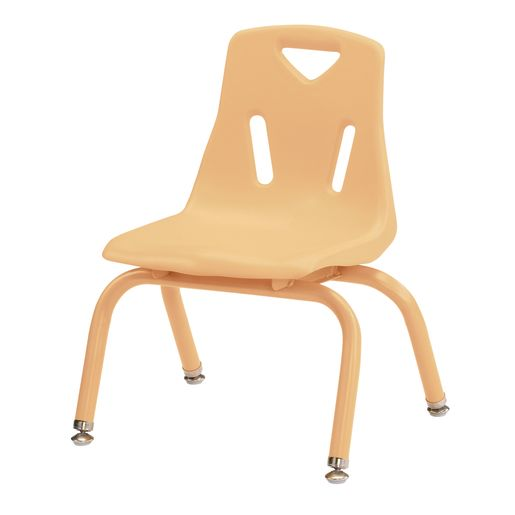 "10""H Chair with matching legs - Camel"