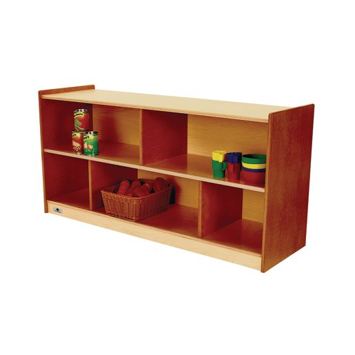 """Environments® 24"""" Forest Wood Divided Shelf - Forest"""