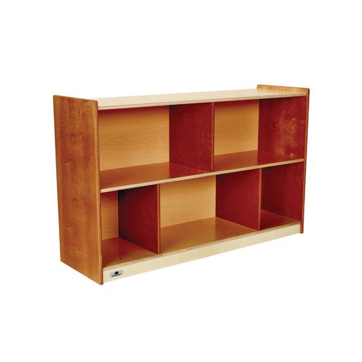 "Environments® 30"" Forest Wood Divided Shelf"