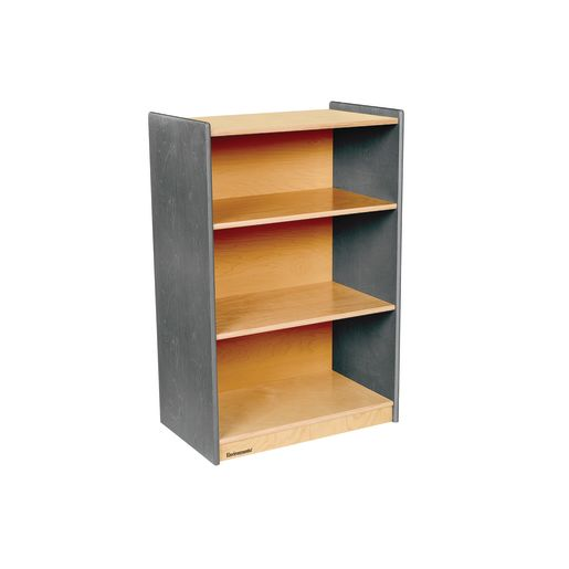 "Environments® 36"" Forest Wood Narrow Shelf - Gray"