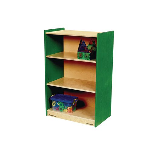 "Environments® 36"" Forest Wood Narrow Shelf - Green"