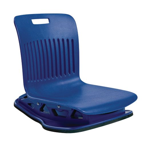 Floor Rocker Seating Cobalt Blue