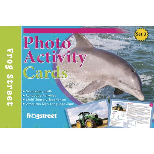 Photo Activity Cards Threes