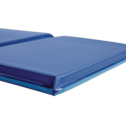 "2"" Germfree Two-Tone Blue Rest Mats - Set of 6"