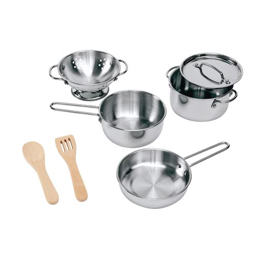 Image of Stainless Steel Pots and Pans Set