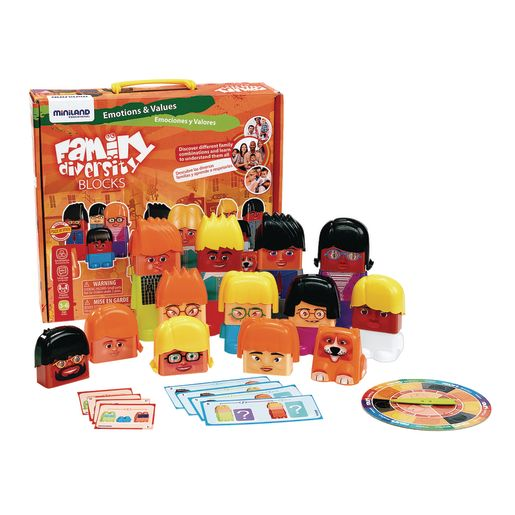 Family Diversity Blocks 33 Pieces