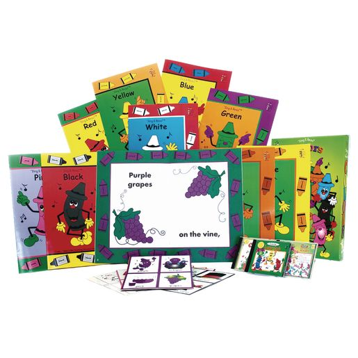 Sing & Read Literacy - Colors